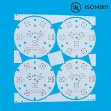 Alumínio 2.0mm 1oz 1.0W/M.L placa do diodo emissor de luz do PWB