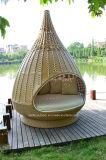 Openlucht Rieten Rotan Nestrest/het het Hangende Bed van de Rotan/Nest van de Daling van het Water