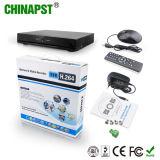 La cámara independiente más nueva NVR (PST-NVR004) del IP del video de la red de Digitaces 4CH 1080P