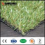 Niedriger Garten-Gras-Rasen der Preis-20mm natürlicher synthetischer mit dem Feuer beständig