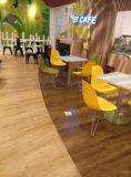 Plancher homogène de PVC/plancher de vinyle pour le restaurant