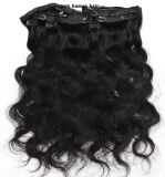 Hair Extension 100%년 Virgin에 있는 최고 Grade 8A Clip Human Hair Extension Lbh 107