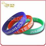 Wristband del silicone del camuffamento di Debossed su misura regalo di promozione