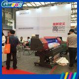 두 배 Dx5는 1440dpi 기치 인쇄 기계 Eco 용매 인쇄 기계를 이끈다
