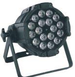 Verdunkelung 18X18W Rgabwuv Aliminum NENNWERT LED des Stadiums-Geräts
