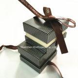 Твердая коробка побрякушки кольца для ювелирных изделий кольца