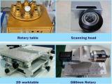 20 con la macchina portatile dell'indicatore del laser della fibra del metallo del percorso dell'indicatore luminoso di estraposizione di 30With 50W