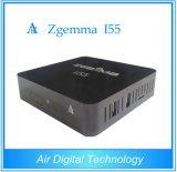Uitsluitend Doos van de Speler WiFi van Linux OS E2 USB van de Kern van de Doos Hoge cpu van Zgemma I55 IPTV van de Lucht de Digitale Dubbele