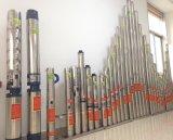 "bomba de agua sumergible centrífuga gradual del acero inoxidable de la serie 4SD con 1.25 "" enchufes (4SDM308-0.75)"