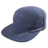 Chapeau promotionnel de campeur de type de bord plat neuf de Snapback Jersey