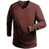 OEMの方法人の長い袖のスポーツの体操の摩耗のTシャツ