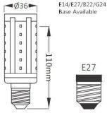 5W 7W 9W 12W 15W B22 E27LED Mais-Birne