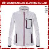 スポーツの羊毛のライニングが付いている防風のSoftshellのジャケット