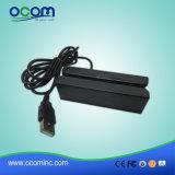 Mini leitor de cartão MSR da listra magnética do USB de 3 trilhas (CR1300)