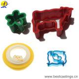 Molde plástico de adornamiento respetuoso del medio ambiente de la galleta de las herramientas