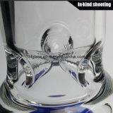 Pijp 8 van het glas het Booreiland van het Glas van de Waterpijp van het Glas van Perc van de Honingraat van de Wapens van de Boom