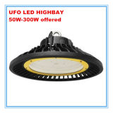 점화 5 년 보장 50W/100W/150W/200W/240W/300W UFO LED Highbay