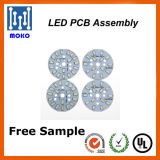 PWB redondo do diodo emissor de luz 7W para placa do PWB do diodo emissor de luz SMD 2835 dos bulbos e do Downlight
