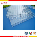 100%년 Virgin Material 50um UV Coating Alveolar Policarbonato Sheet