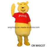 Winnie Pooh la mascotte Csotume