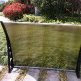 Tenda ritrattabile della finestra della pioggia del policarbonato