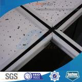 Teto falso da fibra mineral acústica (595*595, 595*1195, 603*603, 603*1212mm)