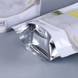 Flat Bottom Gusset Stand up Aluminium Laminated Food Pouch avec Zip Lock / Plastic Packing Bag avec fenêtre (ML-E26)