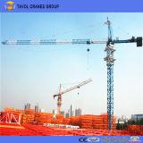Qtz125-6015 10 t-chinesischer Cer ISO-Hochbau-Oberseite-Installationssatz-Turmkran-Hersteller