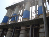 Évaporateur à couche descendante de vide d'effet multi pour le système effluent d'évaporation