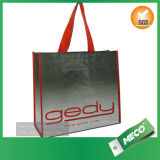 Ecoの友好的な再生利用できる大きい編まれた買物客によって編まれる袋(MECO141)
