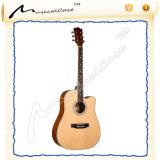 Equipamento clássico elétrico baixo das guitarra acústicas para a venda