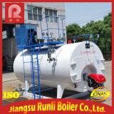 Chaudière à vapeur à eau chaude avec tuyau d'incendie industriel au gaz et à l'huile