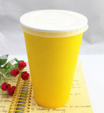 Lids를 가진 16oz Disposable Single Wall Paper Cup