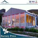 AluminiumMaterial Outdoor Garten Pavilion Banquet Tent mit Glass Wall
