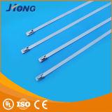 Passen GroßhandelsEdelstahl-flexible Kabelbinder
