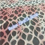 Merletto di nylon elastico del Crochet di vendita calda 2016 per l'indumento