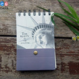 Fabrik Supply Small Printing Promotional Spiral Notepads mit Bound