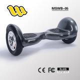 """O """"trotinette"""" de equilíbrio 2 do auto esperto elétrico grande o mais barato do tamanho 2017 roda 10 polegadas Hoverboard"""
