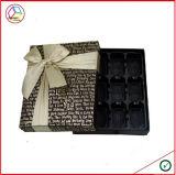 زخرفيّة شوكولاطة و [مكرون] صندوق