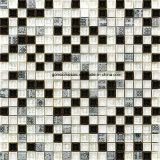 Resinの300*300*8mm Crackle Ice Ceramic及びGlass Mosaic Tile