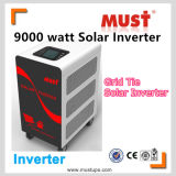 INVERTER-Rasterfeld-Gleichheit-Inverter des Most-9kw wickeln Solar1 Phase in 3 hybriden Inverter ab
