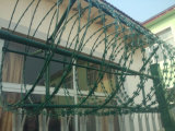 Cerca de segurança soldada da tubulação do aço inoxidável de boa qualidade ASTM A270