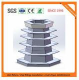 Metallsupermarkt-Regal-Speicher-Einzelverkaufs-Vorrichtung für Bolivien 081310