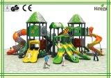 Série ao ar livre Kq60025A da casa de árvore do campo de jogos do Campo de jogos-Kaiqi ao ar livre, parque de diversões para o parque de comunidade, parque de diversões da casa de árvore de Kaiqi