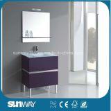 流し(SW-1501)が付いている現代MDFの浴室の家具