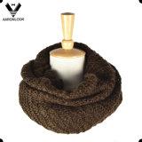 Suave cómodo caliente hecho punto alrededor de la bufanda para la venta