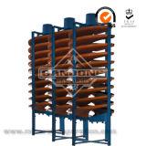 Descendeur spiralé de machine de concentration de densité d'équipement minier