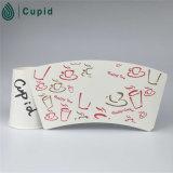 PE enduit de PE de Hztl de papier enduit de ventilateur latéral simple de tasse de papier
