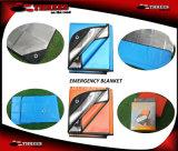 Cobertor de espaço Emergency reusável para qualquer tempo da sobrevivência (1508001)