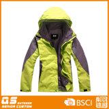 Способ женщин делает 3 водостотьким в 1 куртке спорта зимы